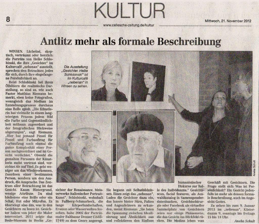 Celler-Zeitung Kultur 21.11.2012
